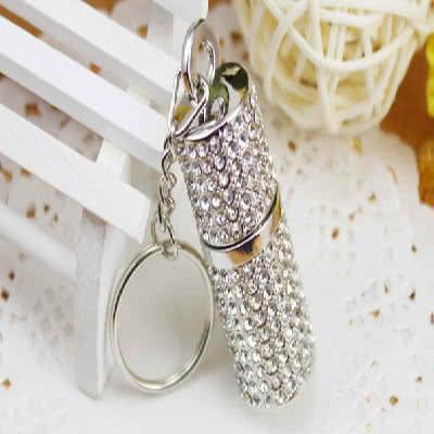 Clé USB bijou cylindre avec anneau Springs