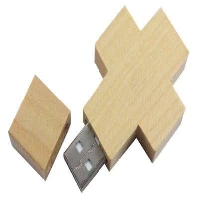 Clé USB JumpDrive Croix en bois