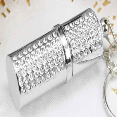 Clé USB ornée de strass brillants Miami