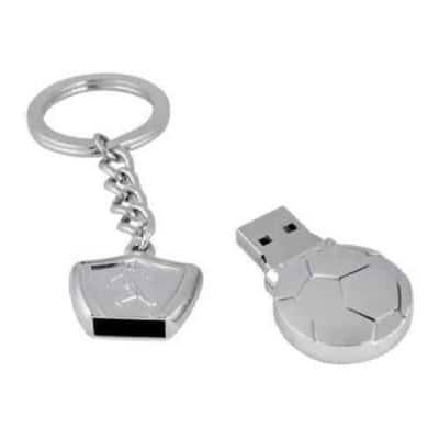 Clé USB métal ballon de football luxueux