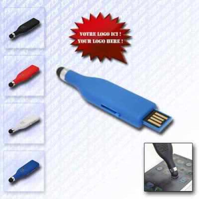 Clé USB avec embout pur écran tactile Halinte