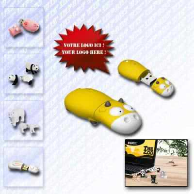 Clé USB en forme d'animaux Elini