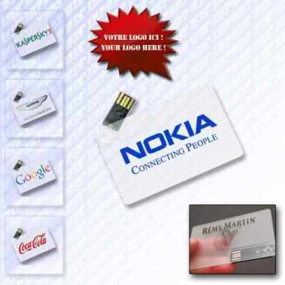 Cl USB Forme De Badge Davent Carte Ronde Chalmin