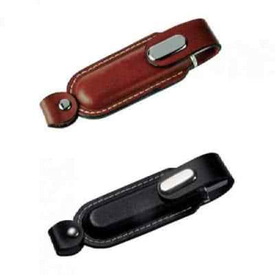 Clé USB avec lanière en cuir Cowboy