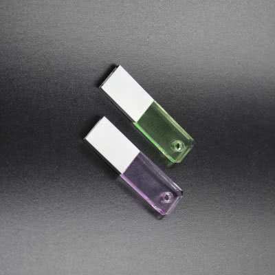 Clé USB cristal avec led June