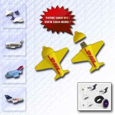 Clé USB avion miniature Hancha
