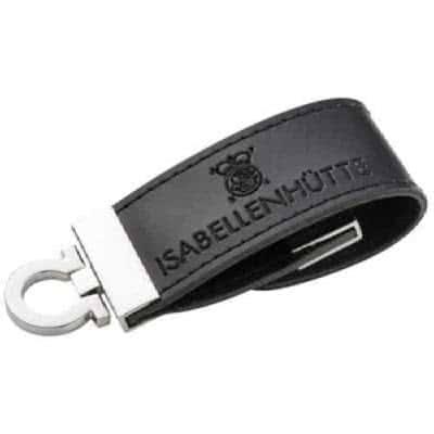Clé USB simili cuir et métal Chan