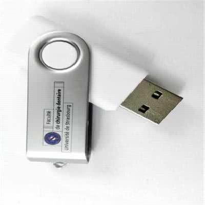 Clé USB twister avec protection en métal Eryde