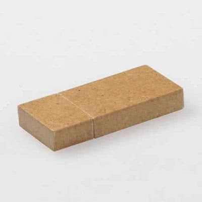 Clé USB rectangle en bois Edin