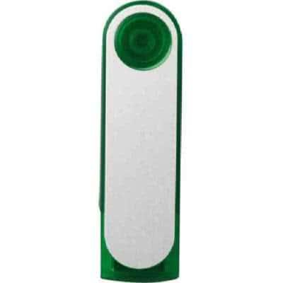 Clé USB rotative en plastique Regina